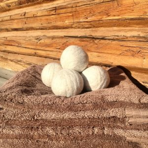 Felted Wool Dryer Balls | Copia Cove Icelandic Sheep