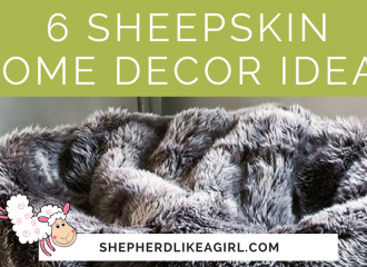 6 Sheepskin Home Decor Ideas | Copia Cove Icelandic Sheep