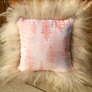 Sheepskin Pillow | Lambskin Thrown Pillow | Copia Cove Icelandic Sheep
