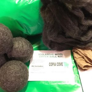 Make Your Own Felted Wool Dryer Balls DIY Craft Kit | Copia Cove Icelandic Sheep