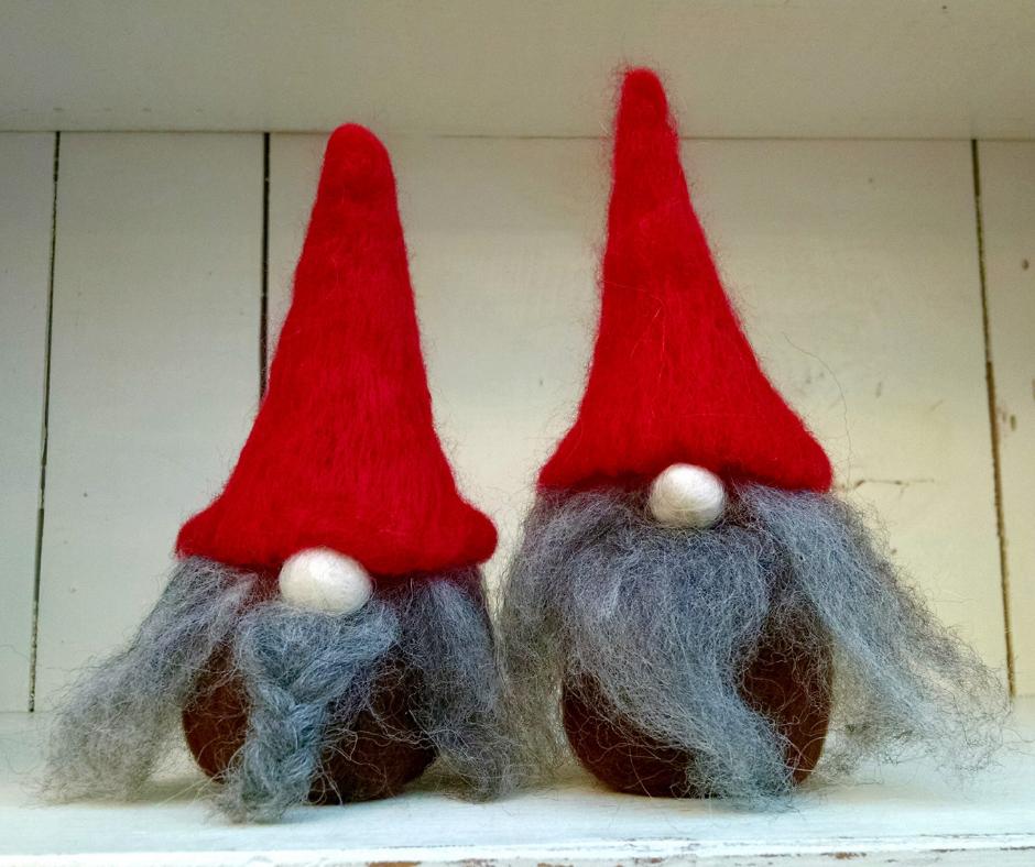 How to Needle Felt a Gnome | Copia Cove Butte Montana