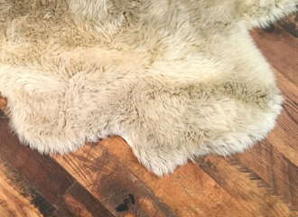 7 Tips for the Perfect Felted Fleece Rug | Copia Cove Butte Montana