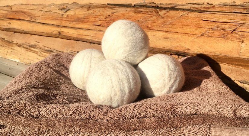 Felted Wool Dryer Balls | Eco-Friendly Laundry | Copia Cove Icelandic Sheep