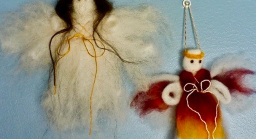 How to Make a Roving Angel | Copia Cove Icelandic Sheep Butte Montana